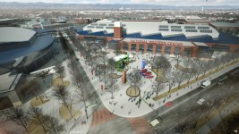 Rendering of new exposition hall at National Western Center. Courtesy Smart Deal for Denver.