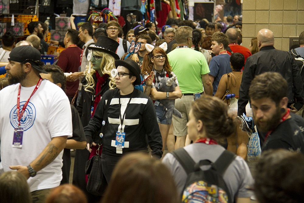 It was a full house on the last day of Denver Comic Con. June 19, 2016. (Kevin J. Beaty/Denverite)  denver comic con; convention center; denver; colorado; denverite; kevinjbeaty