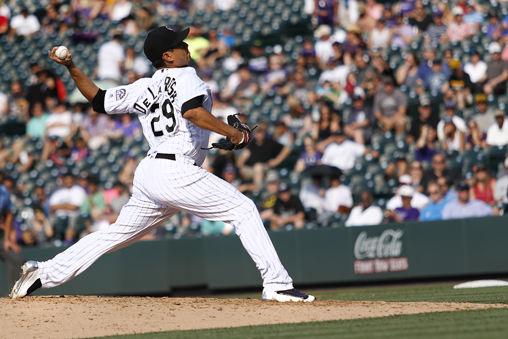 Colorado Rockies vs. Pittsburgh Pirates Coors Field, June 9, 2016. (Photo by Jessica Taves)  baseball; rockies; jessica taves; coors field; sports; denverite; denver; colorado;