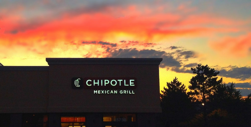Chipotle will try its hand at burgers, first in Lancaster, Ohio. (Mike Mozart/Flickr)