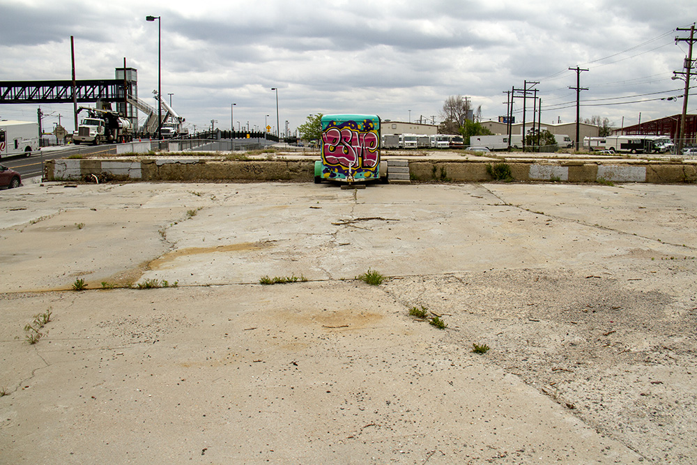 A vacant lot at 38th and Blake. (Kevin J. Beaty/Denverite)  38th and blake; five points; RiNo; development; kevinjbeaty; denver; denverite; colorado;