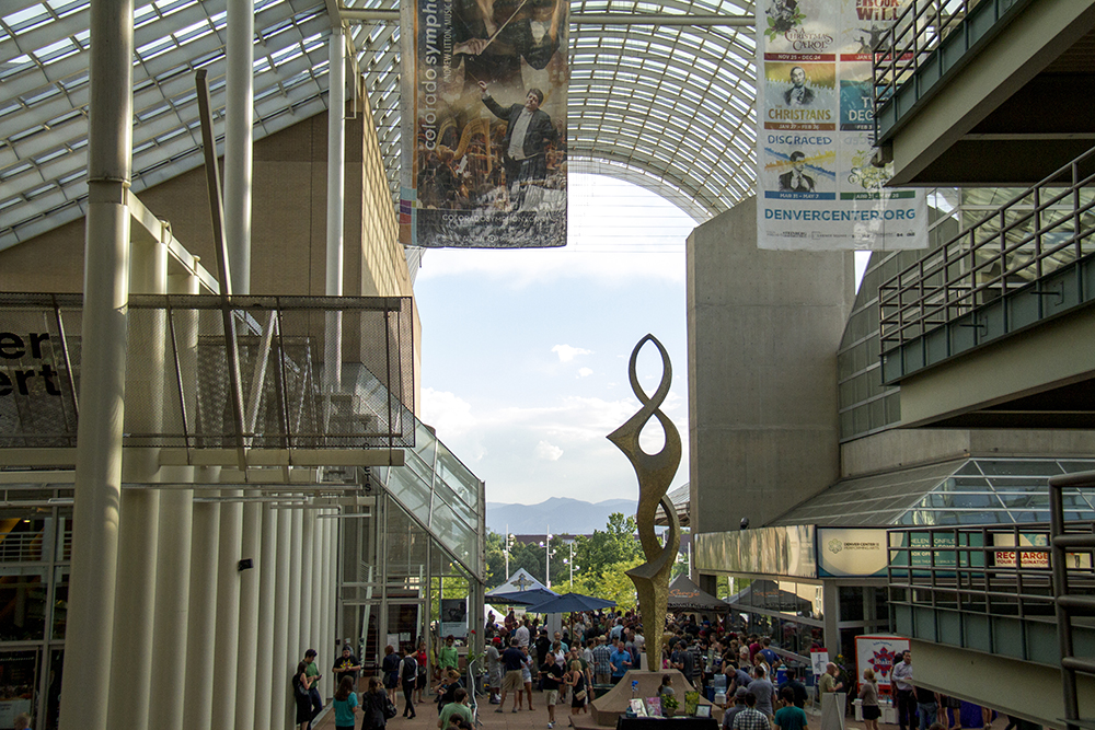 Foodies swarmed the Denver Center For The Performing Arts during The Big Eat. July 14, 2016. (Kevin J. Beaty/Denverite)  food; big eat; Denver Center For The Performing Arts; denver; kevinjbeaty; colorado; denverite;