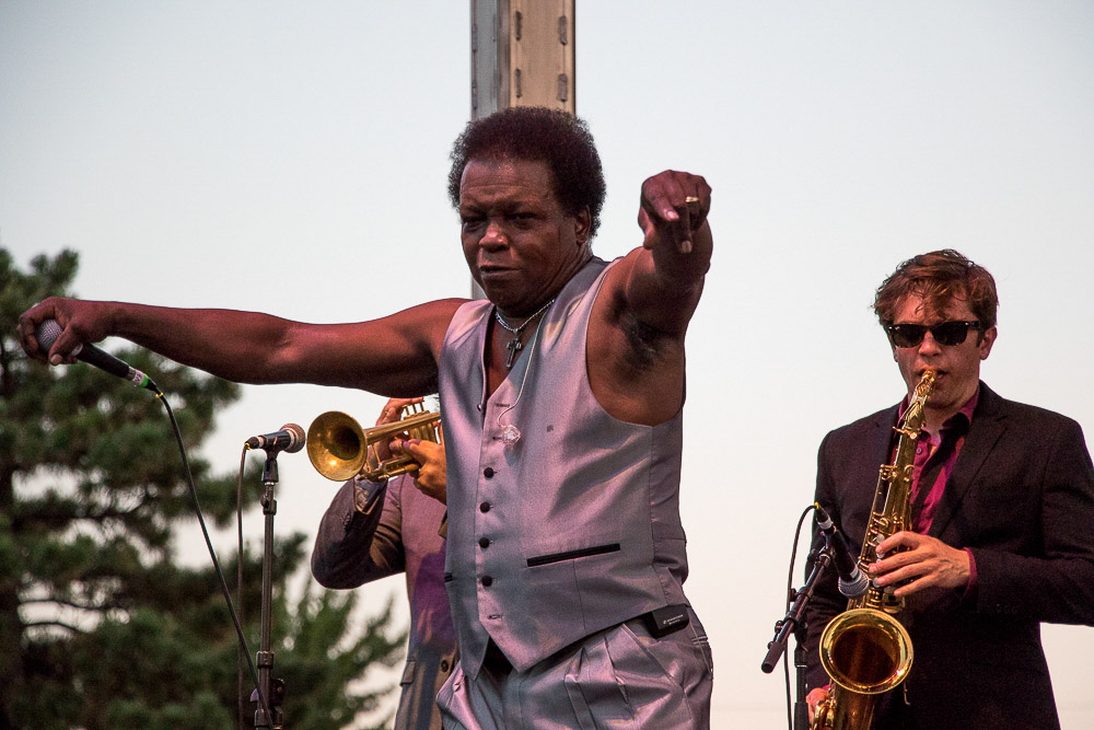 Lee Fields & the Expressions at Main Stage - UMS (Chloe Aiello/Denverite)