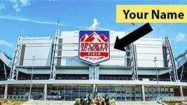 Marketing for the Sports Authority's auction of the naming rights for Mile High Stadium (Hilco Streambank)