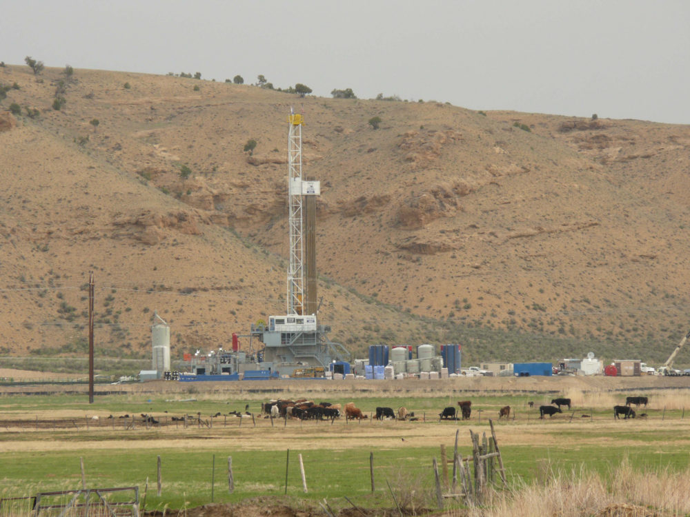 A drill rig near Piceance Creek, Colorado. (Jeff Foster/Flickr)