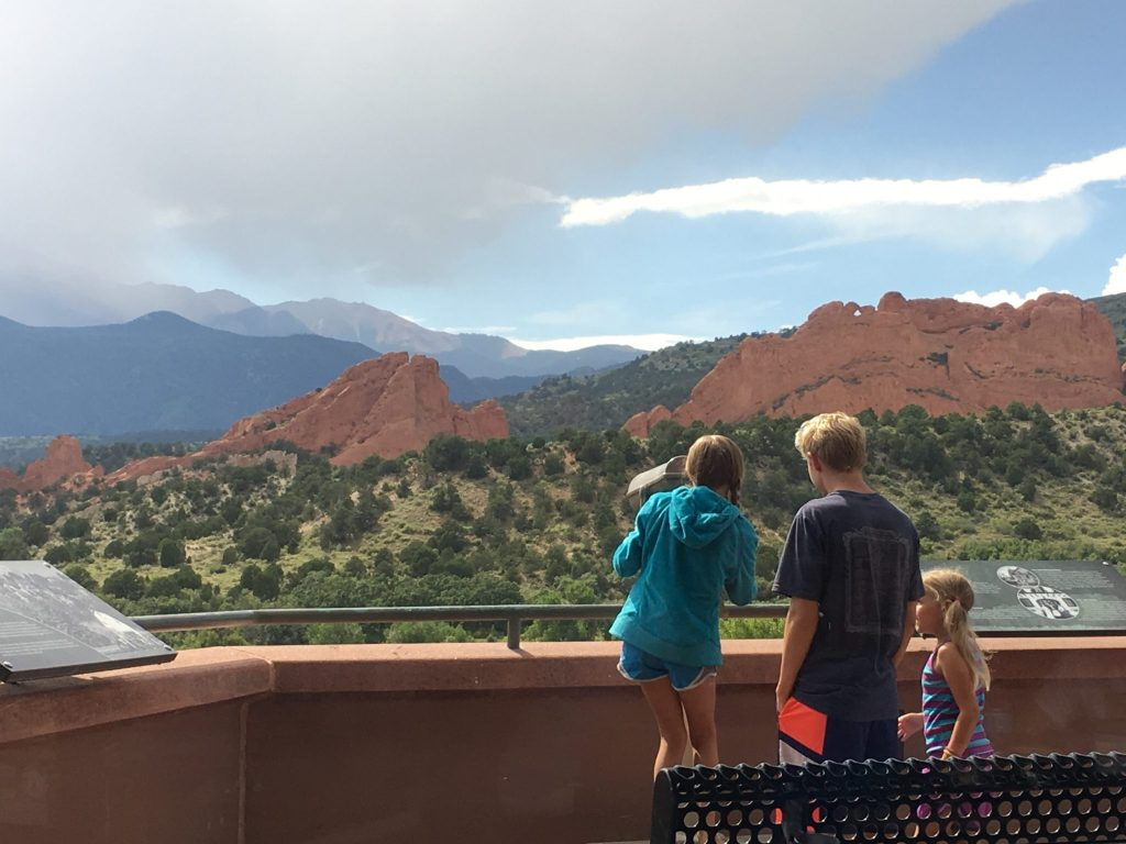 Garden of the Gods is a great Colorado day trip for families with kids of different ages. (Dave Burdick/Denverite)