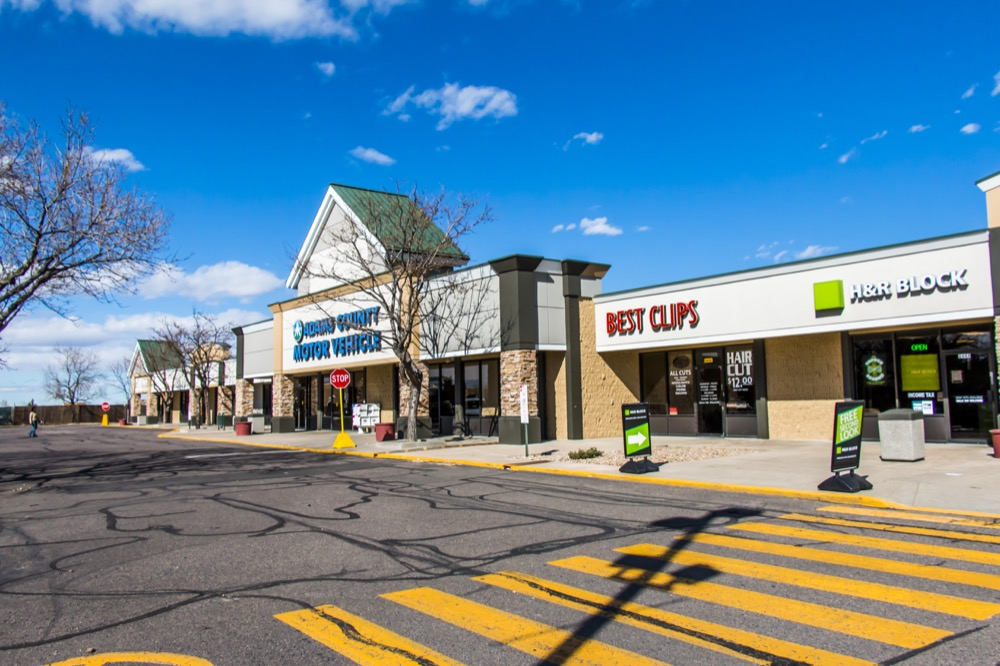 Summit Square shopping center in Westminster (Courtesy of CBRE)