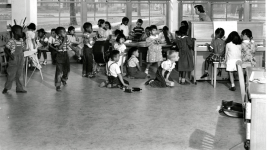 Playtime at Gilpin School in an undated photo. (Denver Public Library/Denver Public Schools records/WH1990)
