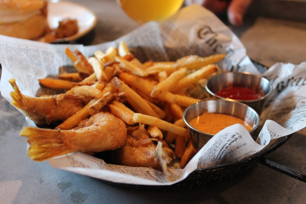 at Fish N Beer, 3510 Larimer St. (Ashley Dean/Denverite)