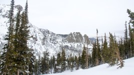 Rocky Mountain National Park. Jan. 15, 2017. (Kevin J. Beaty/Denverite)  nature; rocky mountain national park; snowshoe; hike; winter; weather; kevinjbeaty; denverite; colorado;
