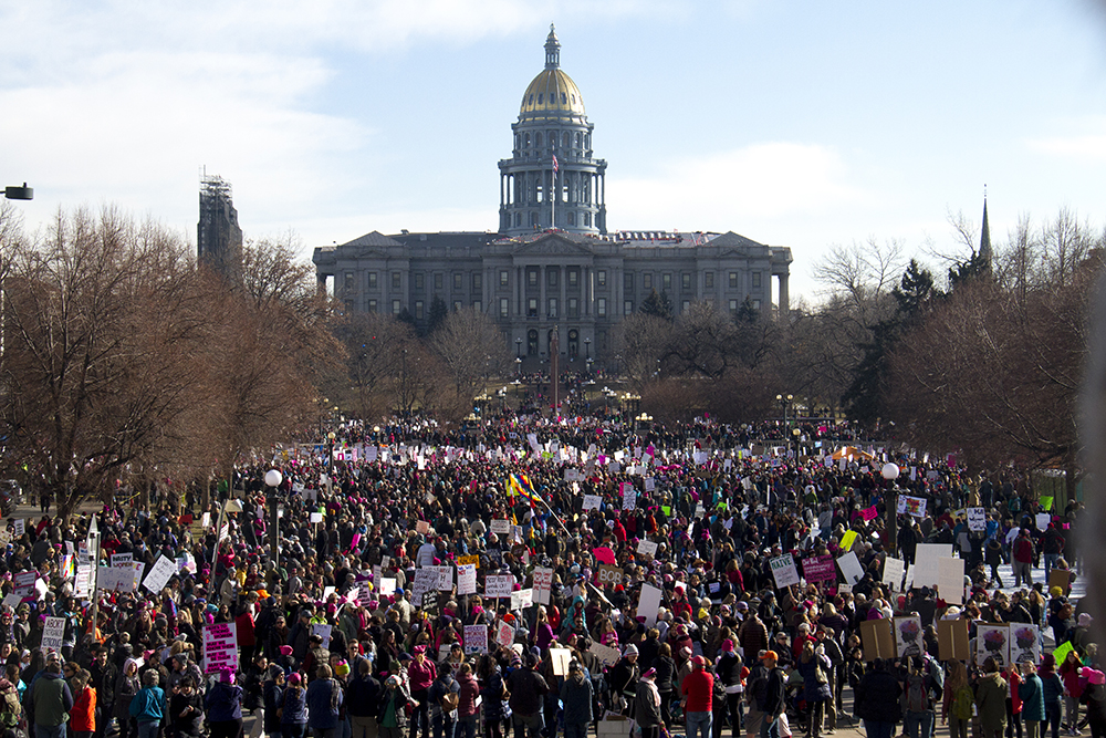 The Women's March on Denver. Jan. 21, 2017. (Kevin J. Beaty/Denverite)
