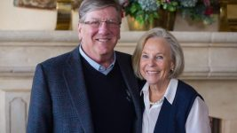 Michael Byram and Ann Smead donated generously to support Colorado aerospace. (Courtesy of CU Boulder)