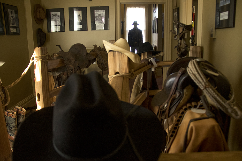 Upstairs in the Black American West Museum. (Kevin J. Beaty/Denverite)  black american west museum; history; five points; kevinjbeaty; denverite; denver; colorado