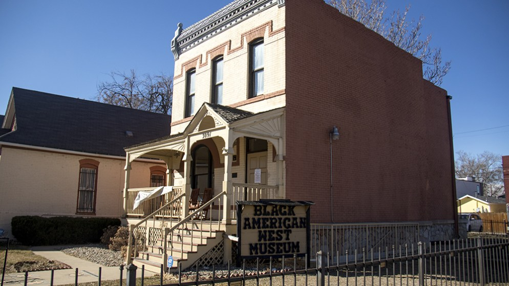 The Black American West Museum. (Kevin J. Beaty/Denverite)