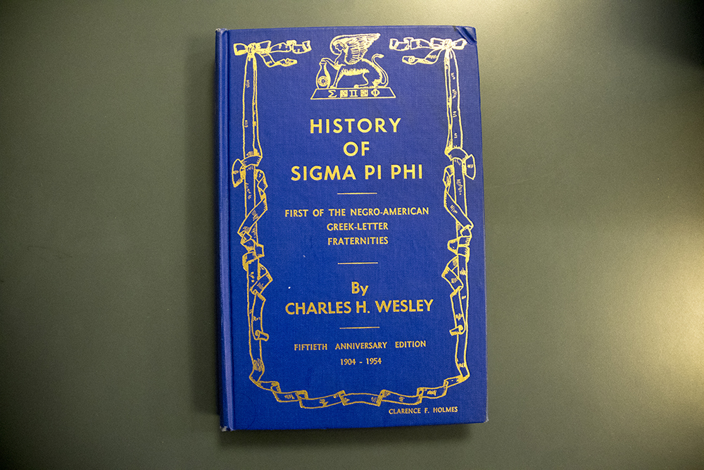 The History of Sigma Pi Phi, fiftieth anniversary edition. (Denver Public Library/Western History Collection/The Clarence and Fairfax Holmes Papers)  denver public library; archive; archival; dpl