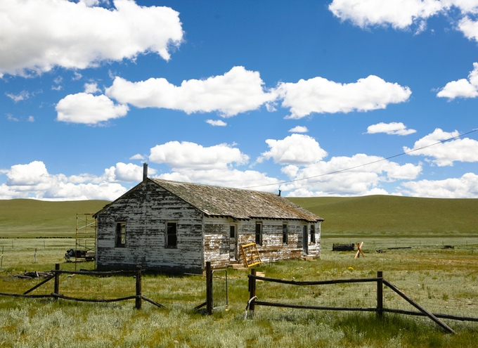 The Cook House in its original state early summer 2015. (Marilyn Hunt/Rocky Mountain Land Library)