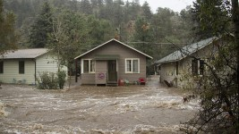 The 2013 Big Thompson Flood in Estes Park. (Kevin J. Beaty)