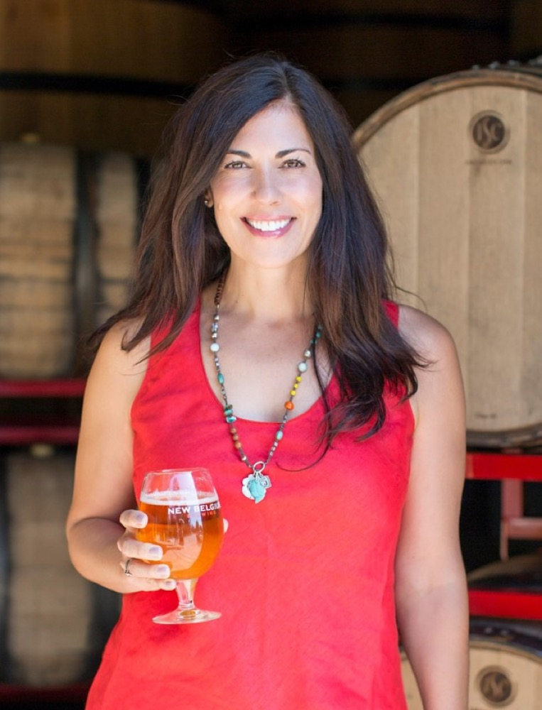 Former New Belgium Brewing Co. CEO Christine Perich. (Courtesy of New Belgium Brewing CO.)
