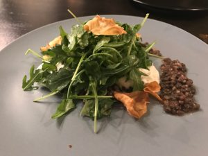 Spiced lentils and burrata at Annette at Stanley Marketplace, 2501 Dallas St.