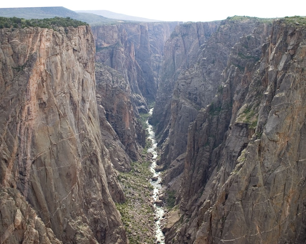 The Black Canyon of the Gunnison. (Lisa Lynch/National Parks Service)