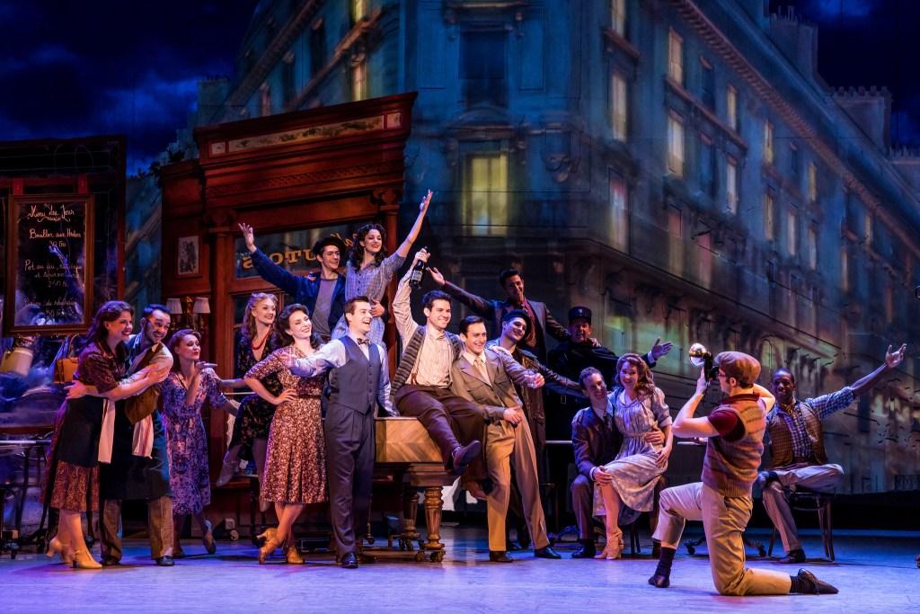 """Touring company of """"An American in Paris."""" (Photo: Matthew Murphy)"""