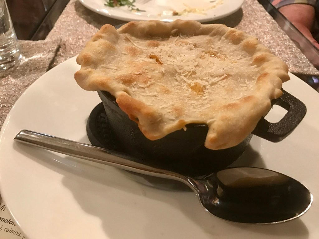 The pasticcio served at Cattivella, 10195 E. 29th Drive, Suite 210. (Ashley Dean/Denverite)