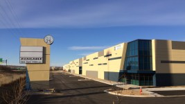Hub 25, a new industrial park located at 601 East 64th Avenue in Denver. (Courtesy of CBRE)