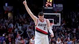 Jusuf Nurkic scored a career high 31 against his old team Tuesday. (Craig Mitchelldyer/USA Today Sports)