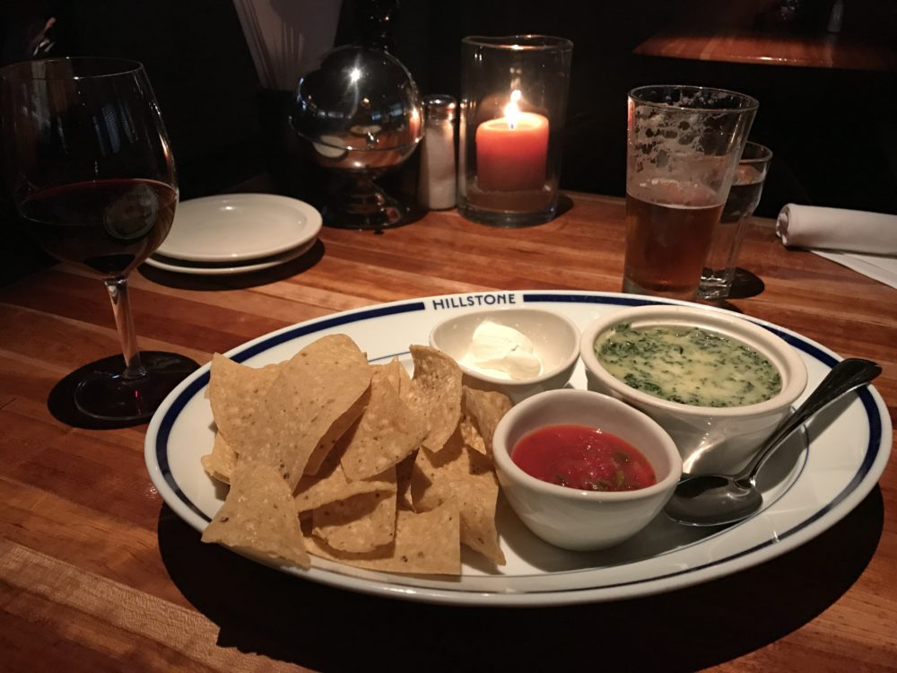 The famous spinach and artichoke dip at Hillstone, 303 Josephine St. (Ashley Dean/Denverite)