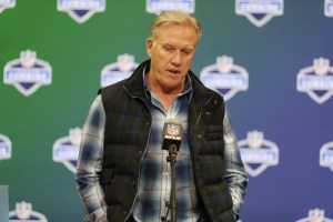 John Elway doesn't sound worried about his contract expiring at the end of next season. (Brian Spurlock/USA Today Sports)
