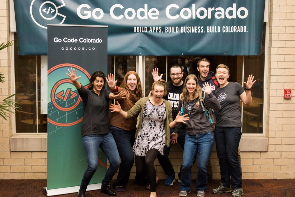 Diversity team winning Go Code Colorado (Courtesy Go Code Colorado)