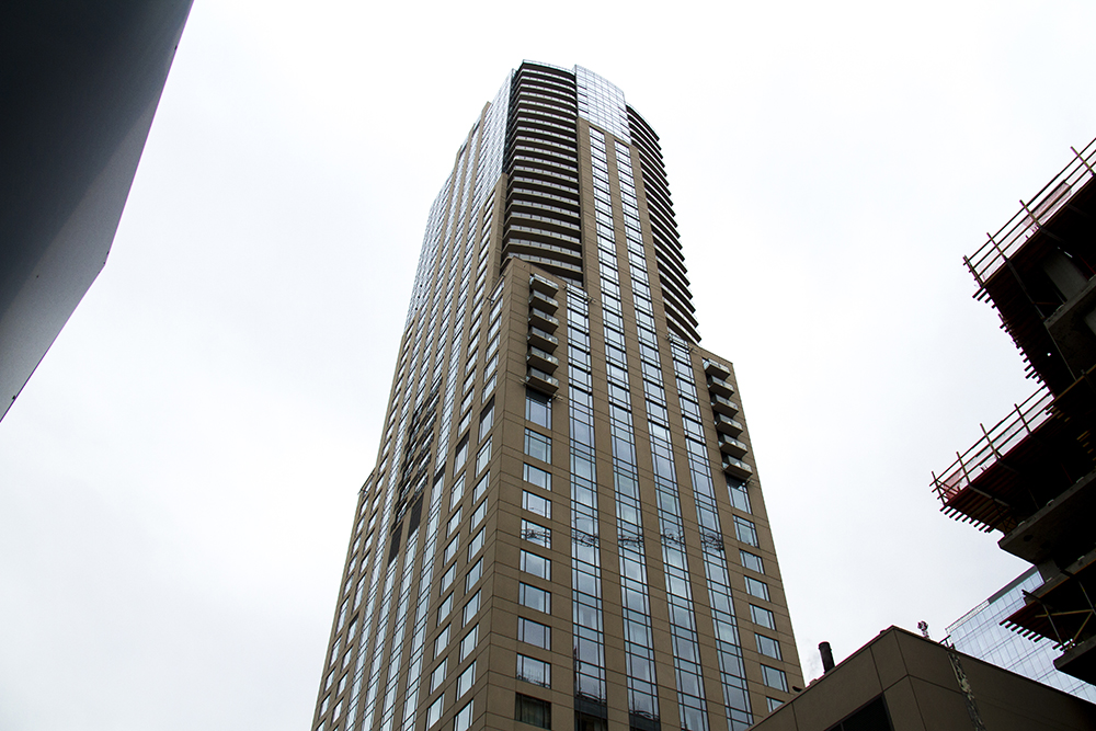 Four Seasons, 1111 14th St. 640 feet tall, 45 stories. (Kevin J. Beaty/Denverite)