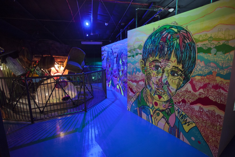 """Meow Wolf's """"House of Eternal Return"""" exhibit in Santa Fe, New Mexico. (Courtesy of Meow Wolf)"""
