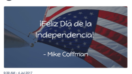 Rep. Mike Coffman's office tweets in Spanish now. (Twitter)