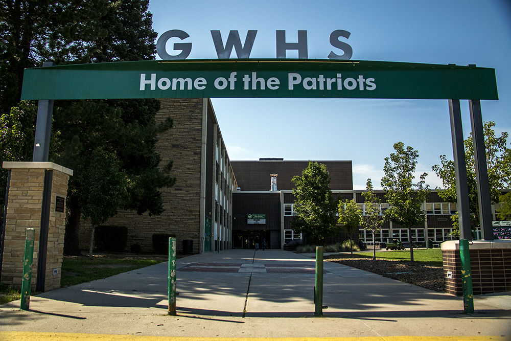 George Washington High School. (Kevin J. Beaty/Denverite)  denver; colorado; high school; denverite; kevinjbeaty;