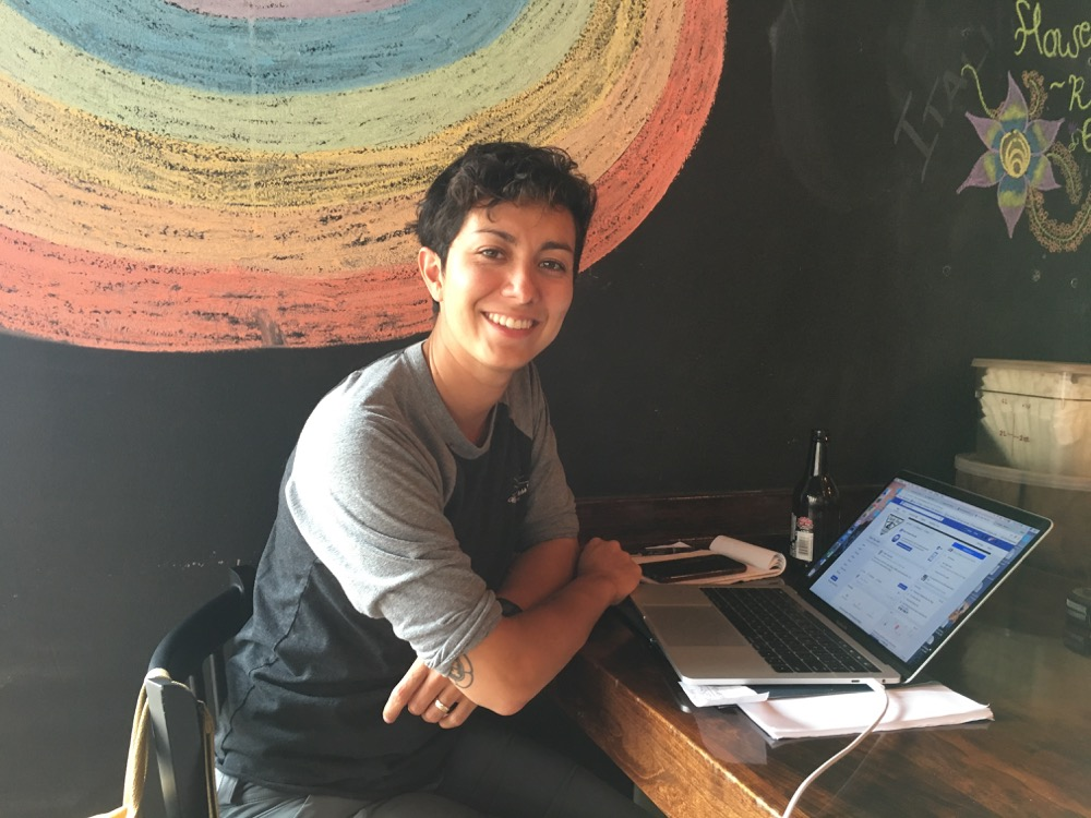 Naomi De La Torre is co-owner of the new Triple Tree Cafe on East Colfax. (Andrew Kenney/Denverite)
