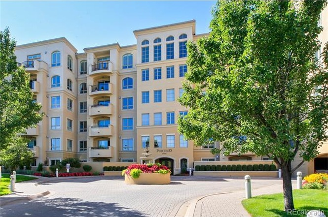 The exterior of 2500 East Cherry Creek South Drive, #519. (Courtesy of Redfin)