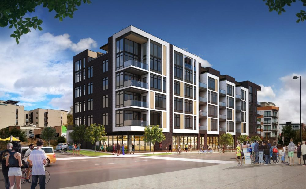 A rendering of Grandview LoHi. (Courtesy of Alpine Investments Denver)