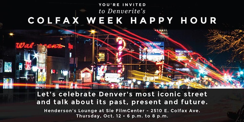 Denverite is holding an event to celebrate Colfax Avenue on Oct. 12. Tickets are $10.