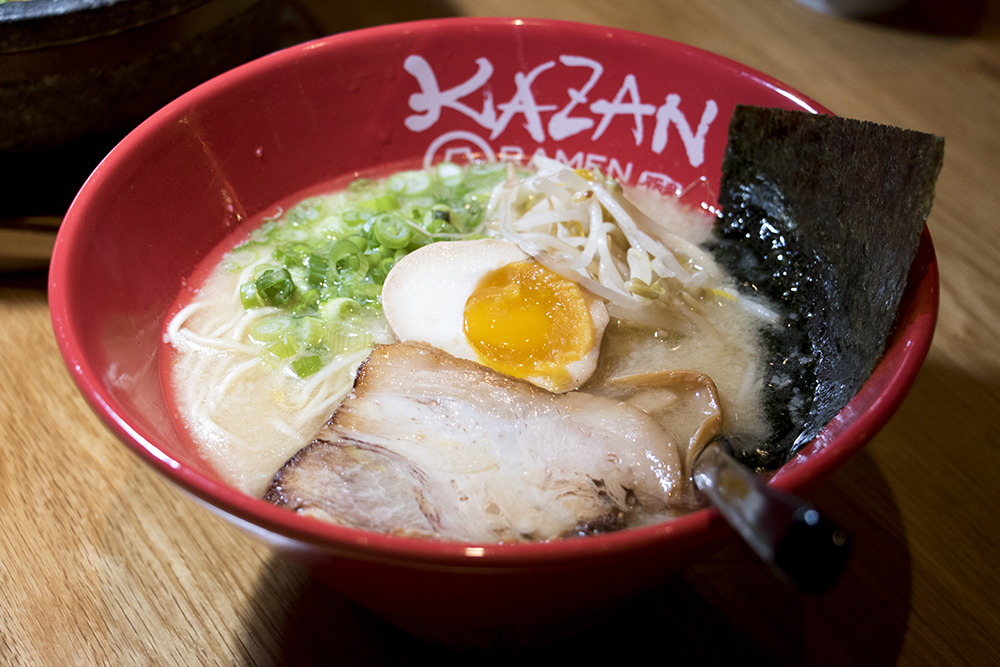 Shoyu ramen at Kazan Ramen on Tennyson Street, Feb. 16, 2018. (Kevin J. Beaty/Denverite)  food; restaurant; tennyson; berkeley; denver; denverite; kevinjbeaty; colorado;