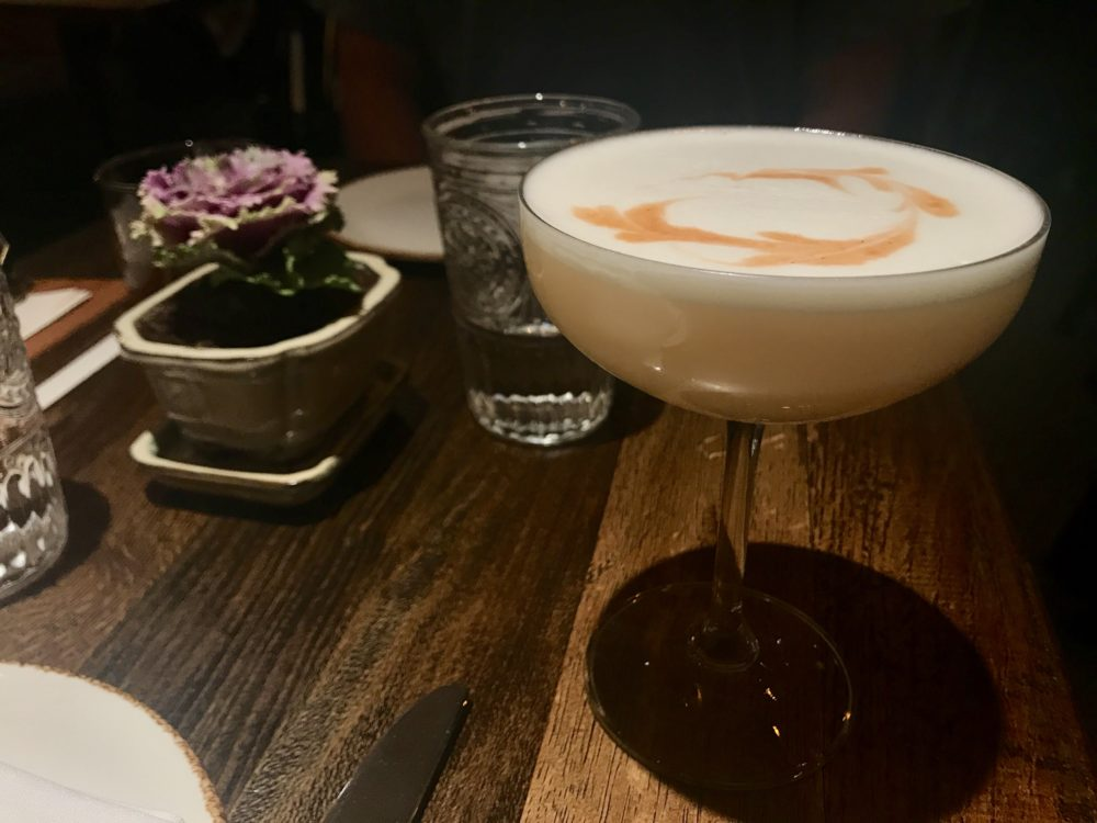The Uptown Sour, made with Elijah Craig bourbon, Cointreau, lemon and egg white, at Julep, 3258 Larimer St. (Adam Larkey Photography)
