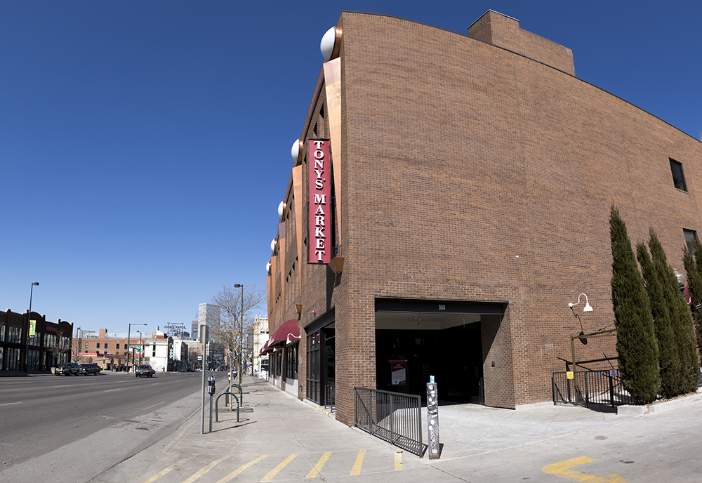 The former site of Tony's Market on Broadway, March 13, 2018. (Kevin J. Beaty/Denverite)  denver; colorado; denverite; kevinjbeaty; commercial real estate; broadway; grocery store;