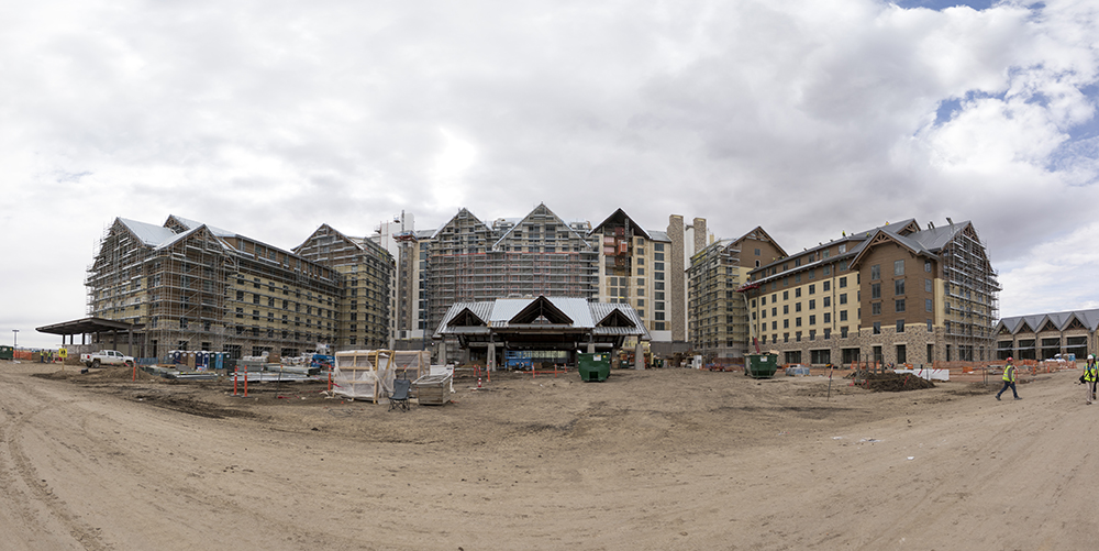 The Gaylord Rockies Resort and Convention Center, under construction, March 22, 2018. (Kevin J. Beaty/Denverite)  denver; colorado; denverite; development; kevinjbeaty; construction;