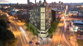 Rendering of the yet-to-be-named residential development planned for 3770 Walnut St.