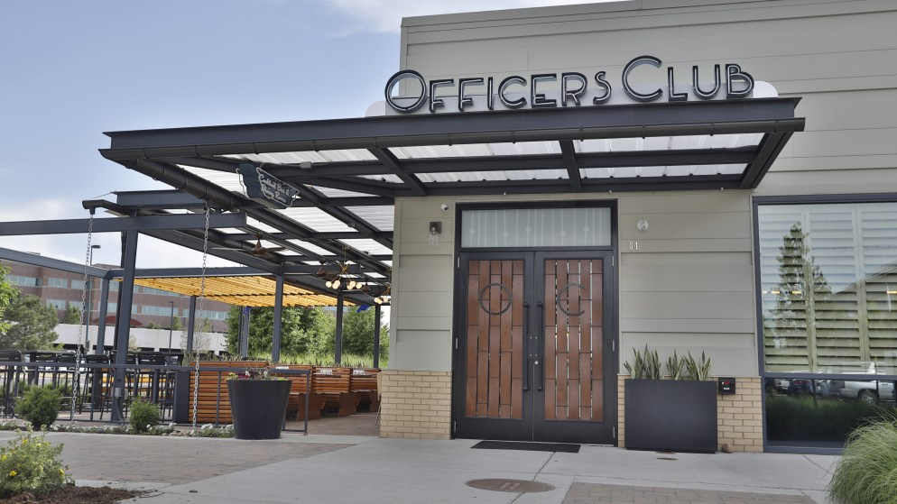 The Officers Club. (Photo: Marc Piscotty)