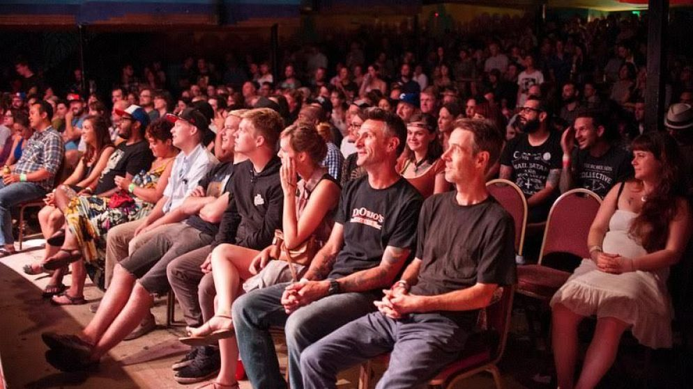 A crowd at High Plains Comedy Festival. (Courtesy of HPCF)