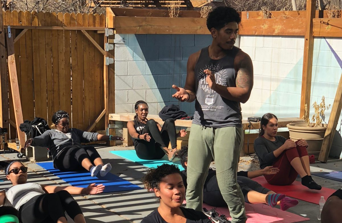 Trap Fitness Is Making Space For Denver S Young Black Professionals To Pursue Physical And Mental Health Denverite The Denver Site