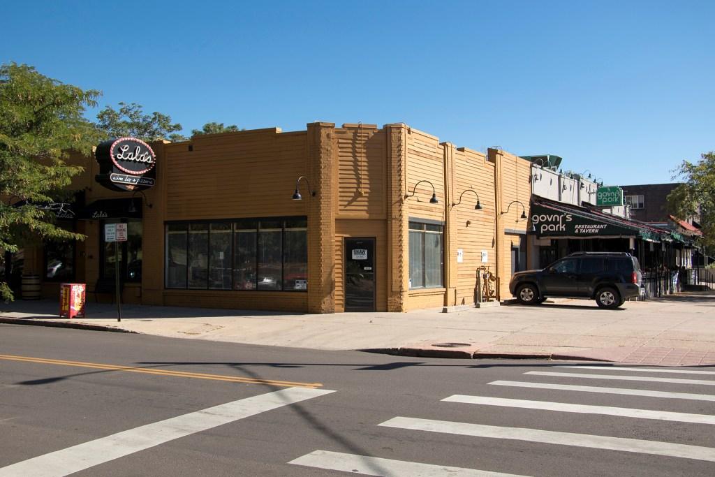 Lala's Wine Bar and Pizzeria and Govnr's Park on Logan Street, Sept. 14, 2018. (Kevin J. Beaty/Denverite)