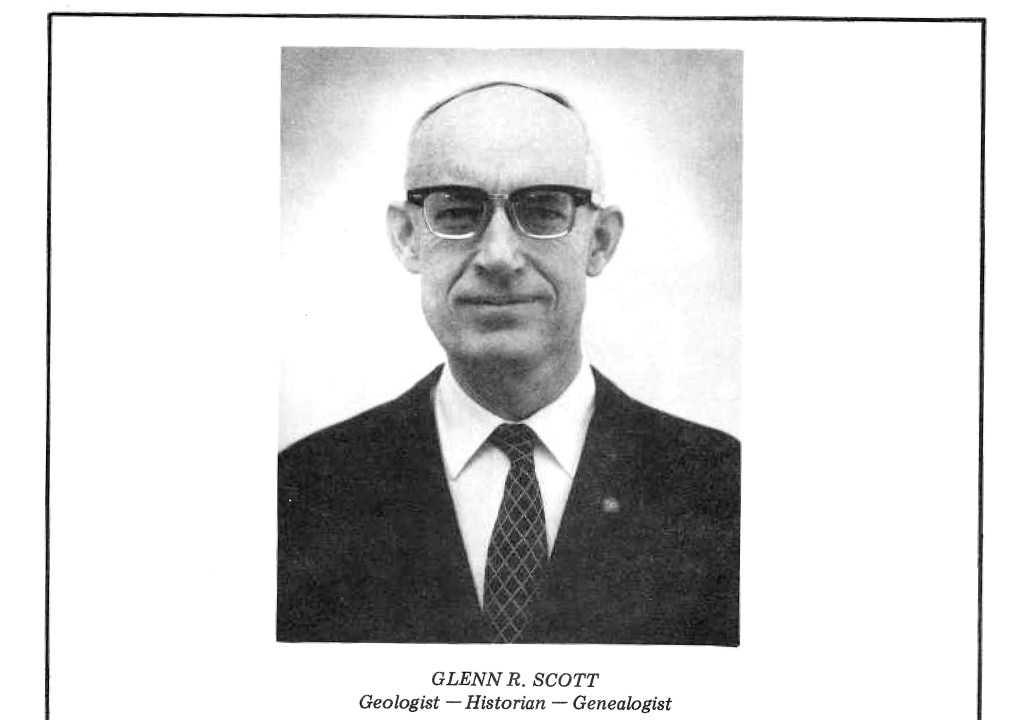 A portrait of Glenn Scott. (Jefferson County Historical Commission)