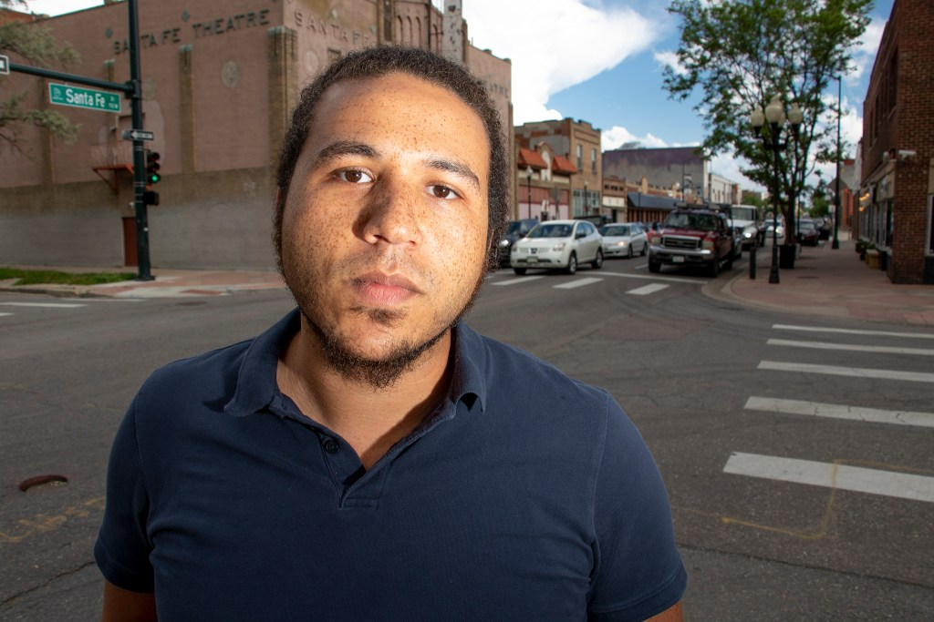Roshan Bliss poses for a portrait, June 8, 2019. (Kevin J. Beaty/Denverite)